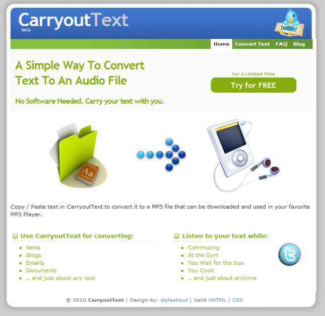 carryouttext.com